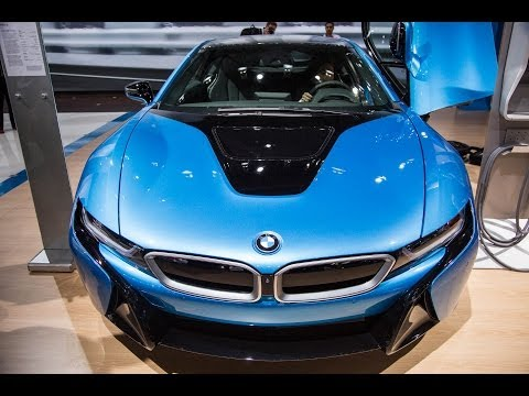 Inside the i8, BMW s First Hybrid Electric Car