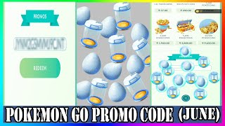 Pokemon Go Promo Code  2020 June