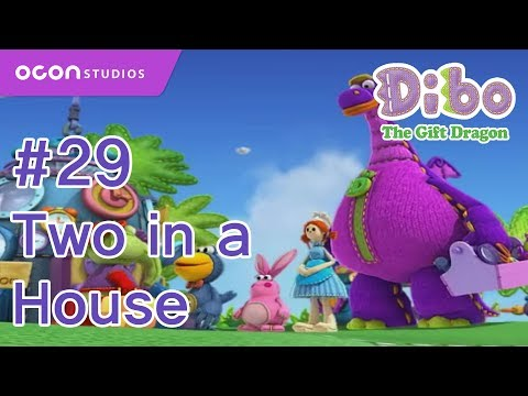[ocon] Dibo The Gift Dragon  ep29 Two In A Housey(eng Dub) video