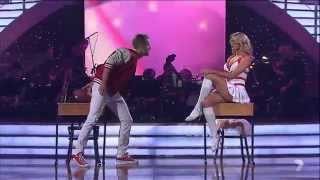 Dancing With The Stars Australia 2013. Jacinta Cambell HD. Cheerleader Fun Paramore