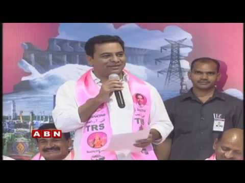 Minister KTR Attends TRS Party Activities Meeting Live | Telangana Bhavan | ABN Telugu