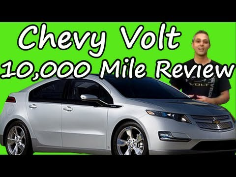 Chevy Volt 10.000 Mile Review