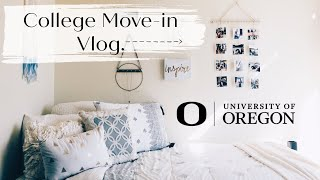 College Move In Day Vlog! University of Oregon!