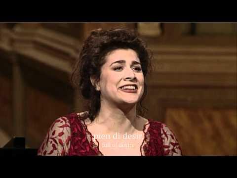 Моцарт Вольфганг Амадей - ария Керубино