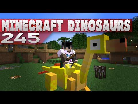 Minecraft Dinosaurs! || 245 || Dino-Riders
