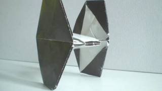 Origami Tie Fighter