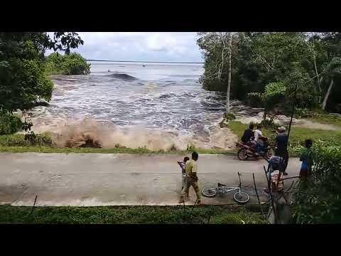 Tsunami in Indonesia January 2018