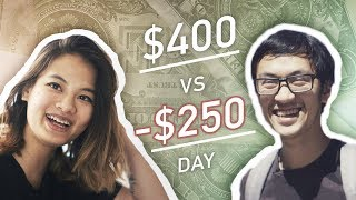 Earning $400 vs Losing $250 in a Day