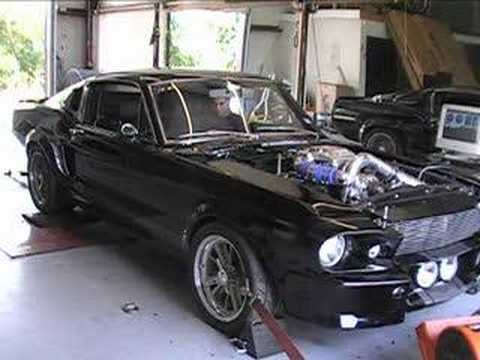 1967 Shelby GT500E Eleanor Super Snake Dyno Run