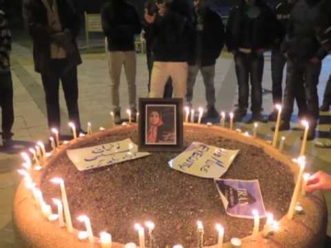 WorldWide Candlelight Vigil in Support of Political Prisoners in Iran