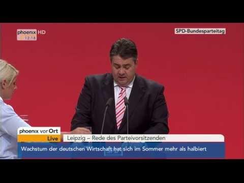 SPD-Parteitag - Rede Sigmar Gabriel am 14.11.2013