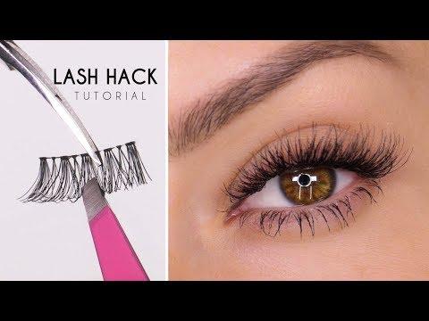 False Eyelash Hack   Easy Way To Apply Lashes   Shonagh Scott   ShowMe MakeUp