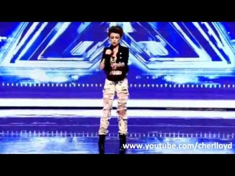 """Cher Lloyd X Factor 2010 First Audition - Soulja Boy / Keri Hilson - """"Turn My Swag On"""" HQ/HD"""