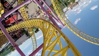 Rage front seat on-ride HD POV Adventure Island