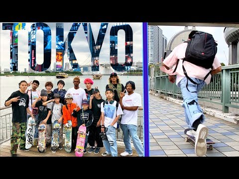 TOKYO SKATE CREW LIFE
