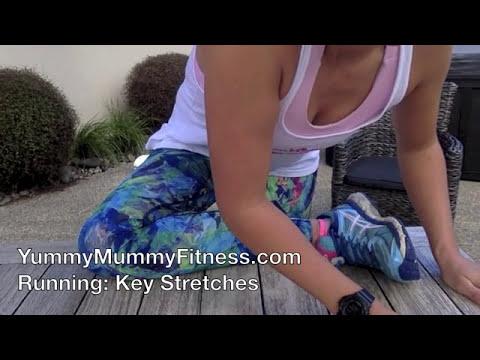 YummyMummy Fitness - Key Post Run Stretches
