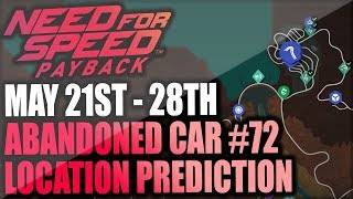 Need For Speed Payback Abandoned Car #72 - Location Prediction + Gameplay - MOST WANTED BMW M3!