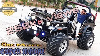 SELLING SUPER QUILTY MODIFIED JEEPS ON ORDER BASES... RAHUL JAIN @8199061161