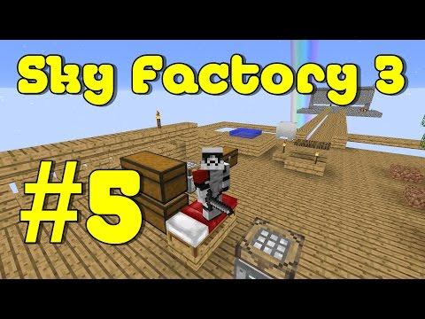 Vorbereitung für die AutoSievs  - Minecraft Sky Factory 3 #5 [German Lets Play]