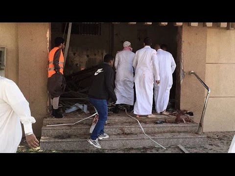 Moment of explosion at Shiite mosque in Saudi Arabia, several killed