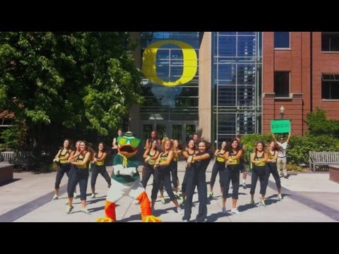 Gangnam Style Parody (강남스타일) - The Oregon Duck video