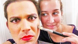 WIFE DOES HUSBANDS MAKEUP! (8.13.12 - Day 1201)