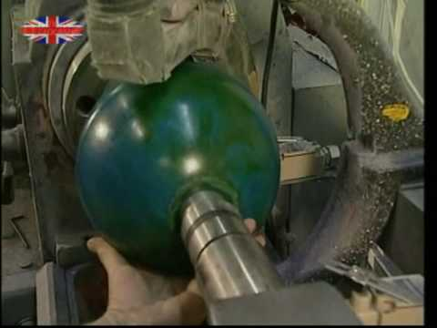 How Ten-Pin Bowling Balls Are Made