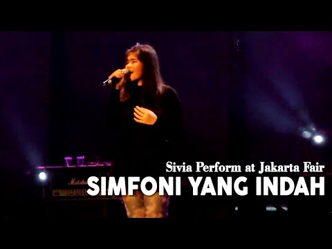 Sivia Perform At Jakarta Fair (simfoni Yang Indah By Once) video