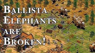 Ballista Elephants are Broken!