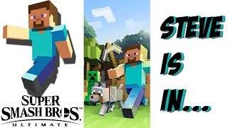 Minecraft Steve may have just been confirmed for Super Smash Bros Ultimate..