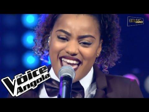 """Winny Guerra com """"Valerie"""" / The Voice Angola 2015 / Show ao Vivo 2"""