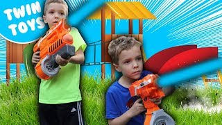 Nerf War:  Playground Warfare Behind the Scenes