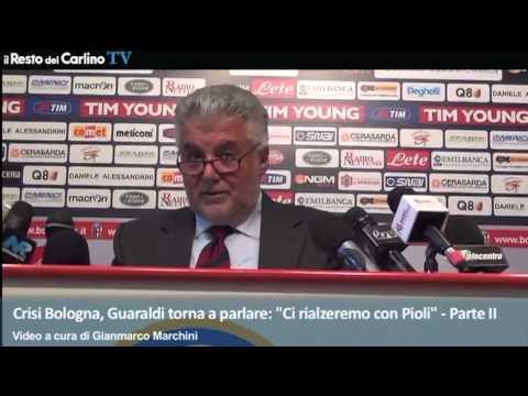 """Crisi Bologna, Guaraldi torna a parlare: """"Ci rialzeremo con Pioli"""" – Parte II"""