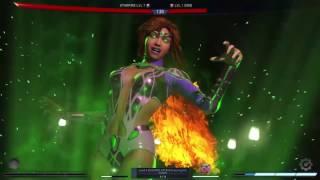 Injustice 2: Starfire vs Grid boss