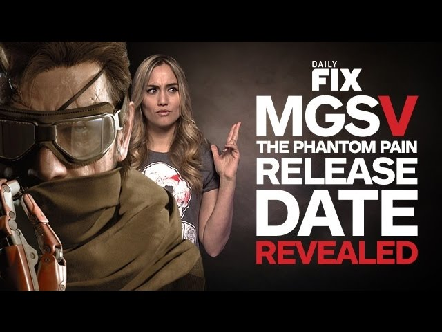 The Phantom Pain Release Date & Win a Year of Xbox Live Gold - IGN Daily Fix