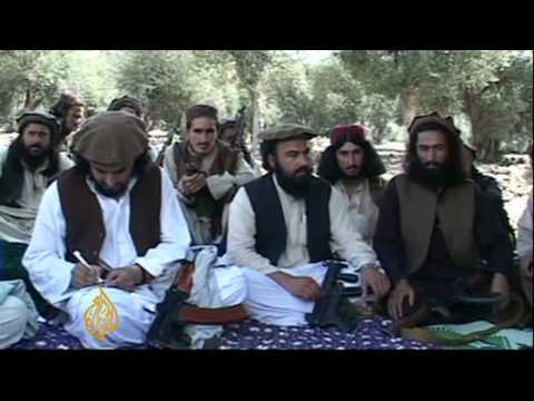 Pakistan Taliban leader vows to fight US troops - 6 Oct 09 Video