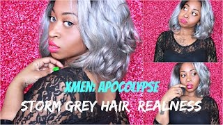 IT'S A WIG REMI TOUCH LACE RT7 | cool grey (Hair So Fly) ☆