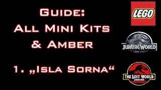 LEGO: Jurassic World - Guide: All Mini Kits & Amber