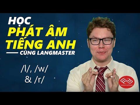 Học phát âm tiếng Anh cùng Langmaster: /l/, /w/ & /r/ [Phát âm tiếng Anh chuẩn #2] thumbnail
