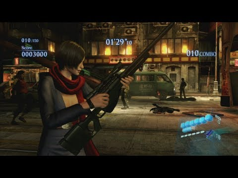 Mod Progress 48 - Resident Evil 6 - Costume and melee showcase