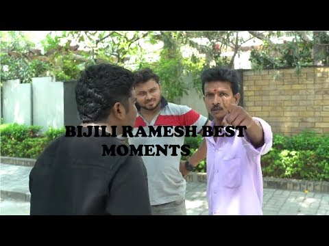BIJILI RAMESH || BEST MOMENTS ||Cric Videos