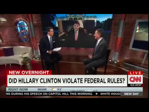 CNN's Cuomo: Clinton Private Email Use