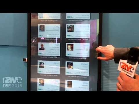 DSE 2015: Four Winds Interactive Demos Cool Team Directory and Contact Card Application