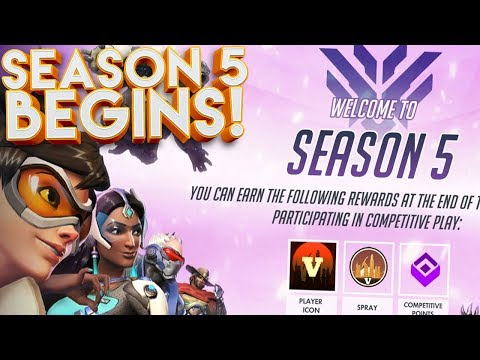 OVERWATCH SEASON 5 COMPETITIVE BEGINS! (PLACEMENT MATCHES)