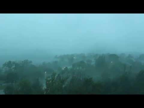 Thunder storm followed by Heavy rain 3878