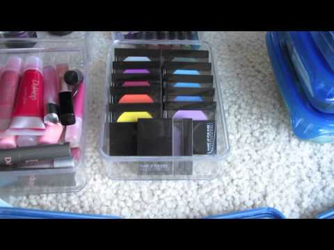 Makeup Storage Organization and Collection - On The Go