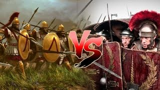 How Did The Romans Beat The Greeks?- Legions Vs Phalanx, Gladius Vs Sarissa