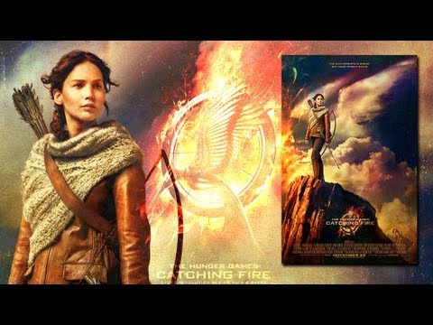 New Katniss 'Catching Fire' Official Movie Poster Unveiled