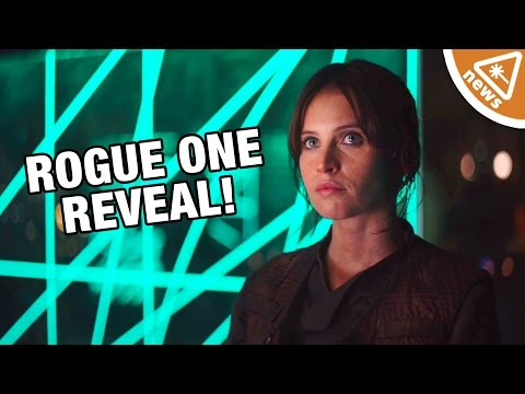 How the Rogue One Character Reveal Confirms Our Theory! (Nerdist News w/ Jessica Chobot)
