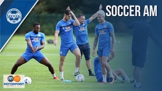 JUST DO VOLLEYS | Posh Take On SoccerAM